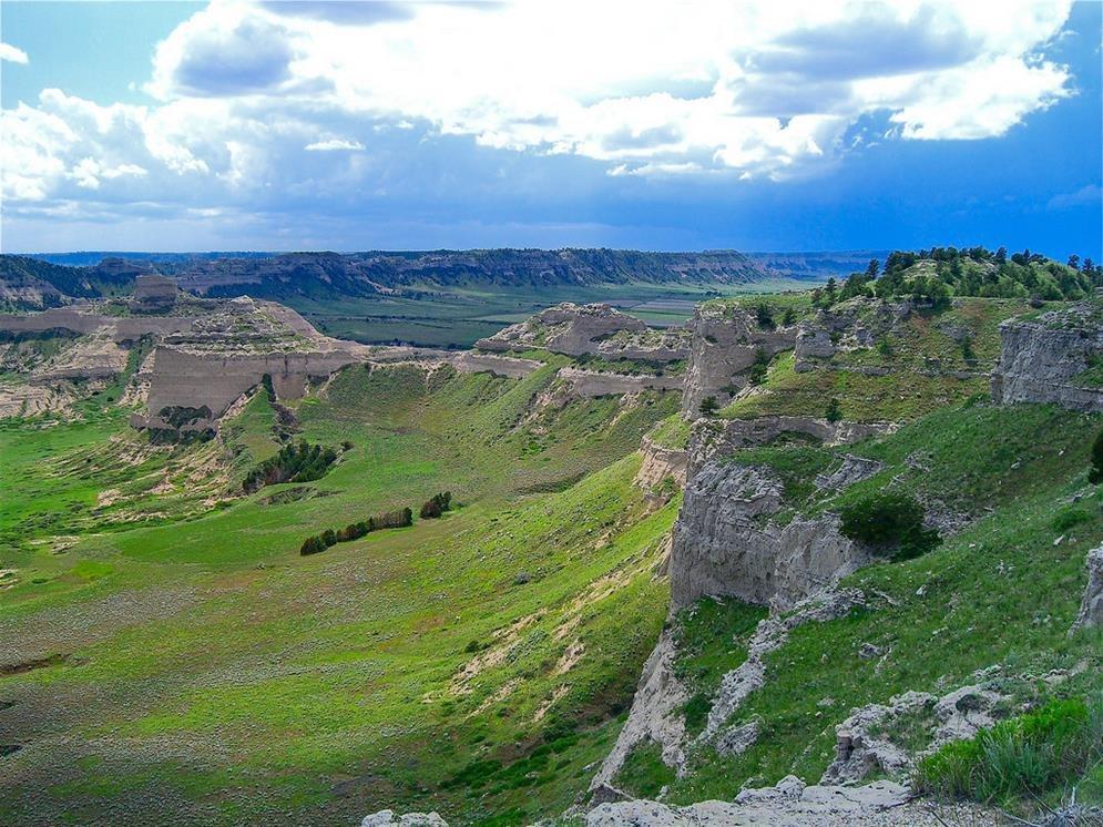 Scotts Bluff National Monument Gering Nebraska Real